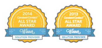 Constant Contact 2013 2014 All Star Award Winner