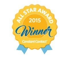2015 Constant Contact All Star Award Winner