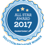 Constant Contact 2017 All Star Award