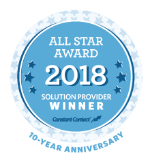 2018 Constant Contact All Star Award